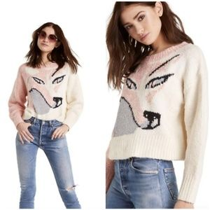 Wildfox Sable Fox Sweater Small New